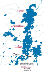 little vermilion lake map