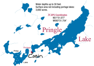 pringle lake map